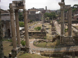 A view of the Forum